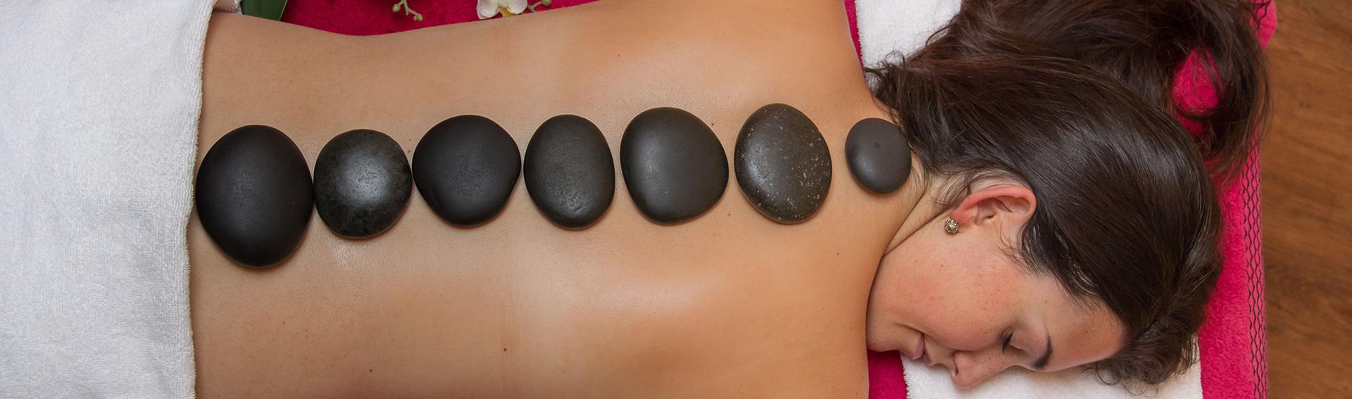 Massage im Kosmetikstudio MarienCosmetics.
